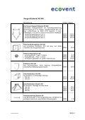 Preisliste 2002 - ecovent - Page 4
