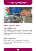 A guide for disabled people - Tower Hamlets Homes - Page 4