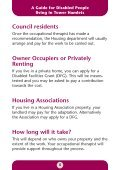 A guide for disabled people - Tower Hamlets Homes - Page 5
