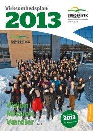 Se uddrag af Virksomhedsplan 2013 - Sønderjysk Landboforening