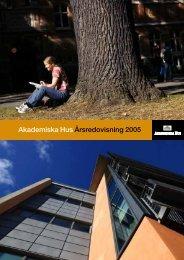 Akademiska Hus Årsredovisning 2005