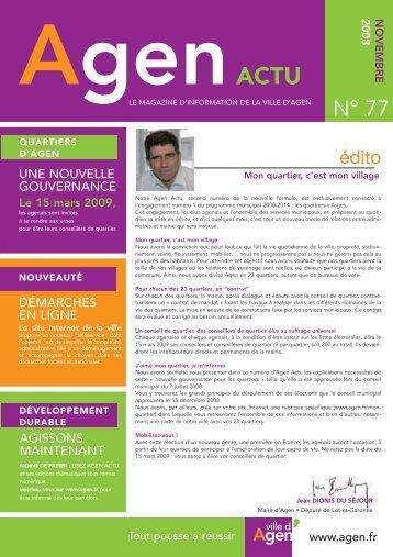 Télécharger le document (pdf - 958 Ko) - Ville d'Agen