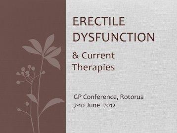 Erectile Dysfunction - General Practice Conference & Medical ...