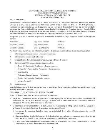 1 universidad autónoma gabriel rené moreno 12 al 14 de ...