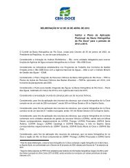 1 DELIBERAÇÃO Nº 32 DE 26 DE ABRIL DE 2012 ... - CBH Doce
