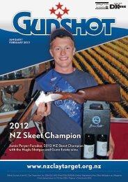 2012 nZ Skeet Champion - New Zealand Clay Target Association
