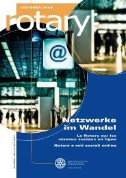 Netzwerke im Wandel - Rotary Schweiz