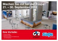 21. – 30. September 2012 - Gewerbeverband der Stadt Zürich