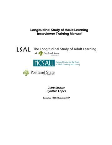 Survey of adult education
