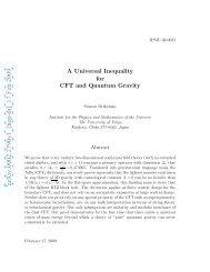 arXiv:0902.2790v1 [hep-th] 17 Feb 2009