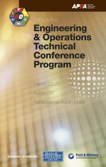 Engineering & Operations Technical Conference Program