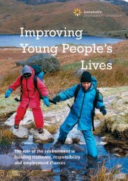 Improving Young People's Lives - Sustainable Development ...