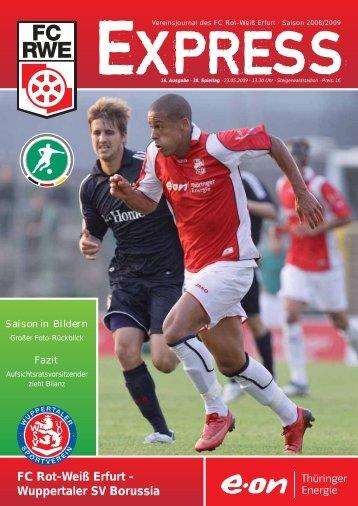 statistik - FC Rot-Weiss Erfurt e.V.