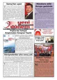 Balkan Türkleri - Kosova Prizrenliler Kültür ve Yardımlaşma Derneği