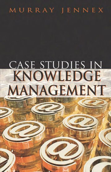 Case Studies in Knowledge Management - Sharif MBA Students ...