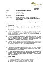 Report to South Downs National Park Authority Date 15 February ...