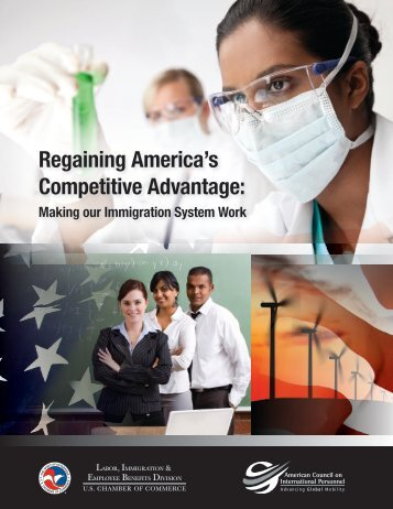Regaining America's Competitive Advantage: - US Chamber of ...