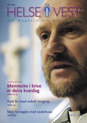 2005-04_Helseivest_web - Helse Vest