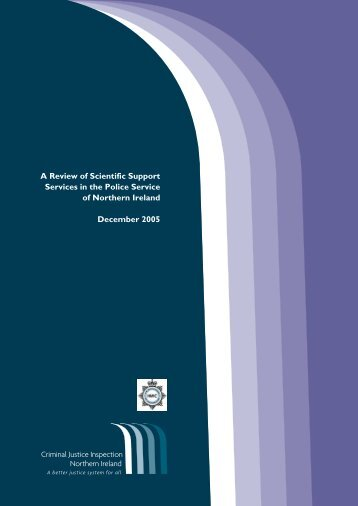 A Review of Scientific Support Services in the Police Service of ...