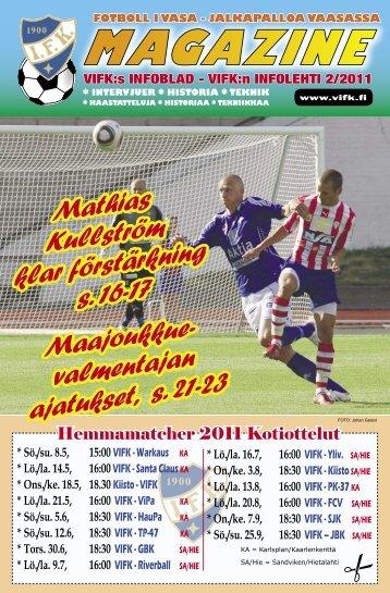 Maajoukkue- valmentajan ajatukset, s. 21-23 Mathias ... - Vifk