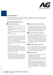 PACK ZWEMBAD - AG Insurance