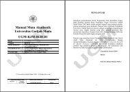 01.01_Manual_Mutu_UGM - Kantor Jaminan Mutu - Universitas ...