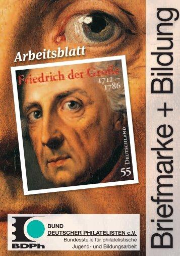 Arbeitsblatt - Bund deutscher Philatelisten eV