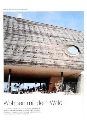 Wohnen mit dem Wald Natur - Thurner Generalplanung Saalfelden