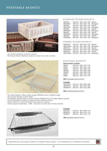 Roco Fittings Catalogue 10 Cupboard Storage Chapter