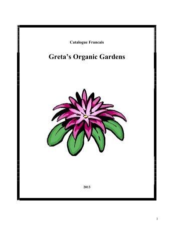Greta's Organic Gardens