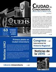 Boletin 63 (web).p65 - Universidad Autónoma de Ciudad Juárez