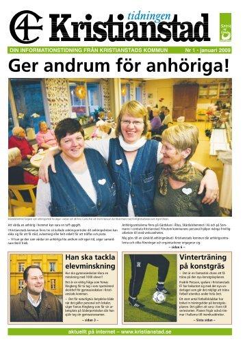 Tidningen Kristianstad nr 1 2009