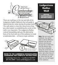 Ledgestone Stone Radius Cube Card