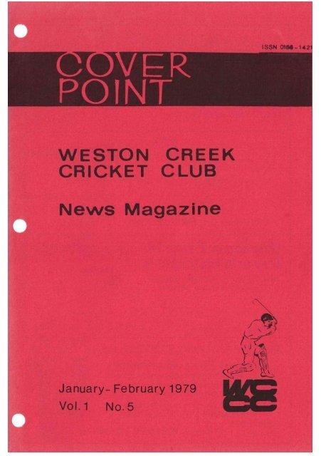 Untitled - Weston Creek Cricket Club