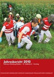 Jahresbericht 2010 -  Rotes Kreuz