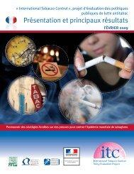 Présentation et principaux résultats de l'enquête ITC France ... - Inpes