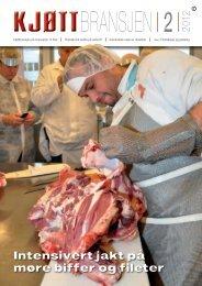 Bladet Kjøttbransjen nr 02 2012 - Kjøtt- og fjørfebransjens ...