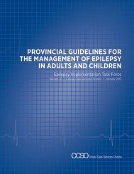 Provincial Guidelines for Management of Epilepsy in Adults and Children_January 2015