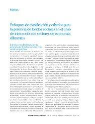 Enfoques de clasificación y criterios para la gerencia de fondos ...
