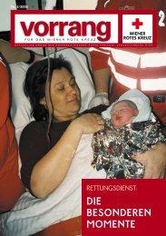 vorrang - österreichisches Rotes Kreuz
