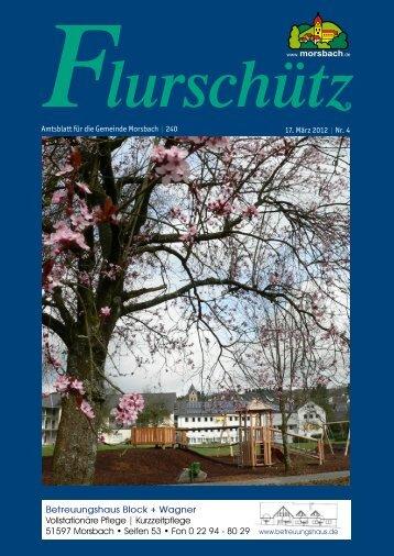 Ausgabe 240 vom 17.03.2012 - Gemeinde Morsbach