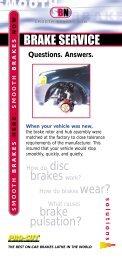 Brake Service Q&A - Pro-Cut USA On-Car Brake Lathes