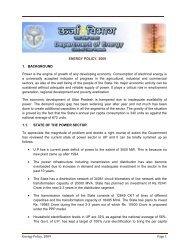 Energy Policy, 2009 Page 1 ENERGY POLICY ... - Udyog Bandhu