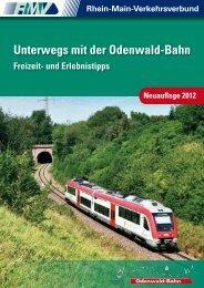 Unterwegs mit der Odenwald-Bahn (PDF, 3.6 MB -  RMV Rhein-Main ...