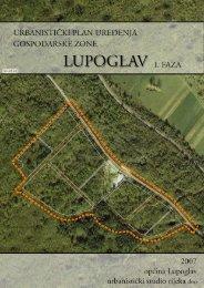 UPU gospodarske zone Lupoglav - I. faza - Općina Lupoglav
