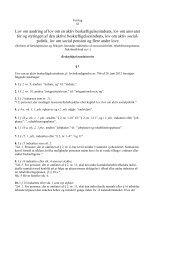 (Forslag til lov om ændring af lov om en aktiv ... - Net