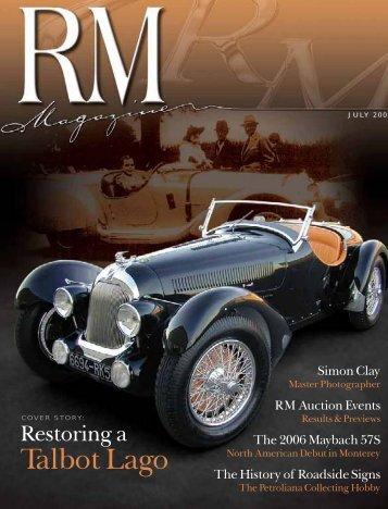 Talbot Lago - RM Auctions