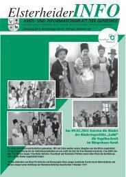 Jahrgang 2011, Donnerstag, den 24. Februar - Gemeinde Elsterheide