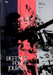 ISSUE 22 : May/Jun - 1980 - Australian Defence Force Journal