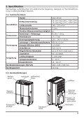 Luftentfeuchter ACD-20-ED - Rotek - Seite 5